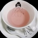 Naked girls tea set
