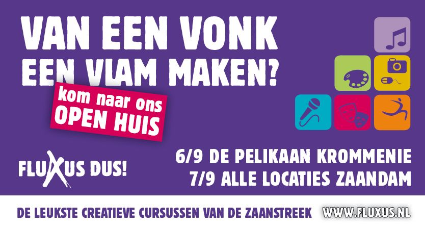 Open Huis@Fluxus  september 7